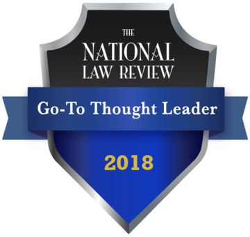 2018 NLR Thought Leadership Award Winner
