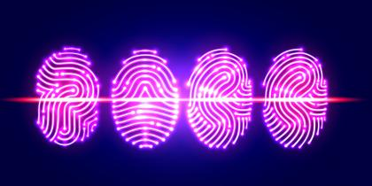Biometircs fingerprint scan