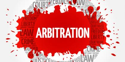 Arbitration not binding