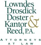 Lowndes Drosdick Doster Kantor & Reed PA