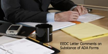 Equal Employment Opportunity Commission (EEOC) Letter