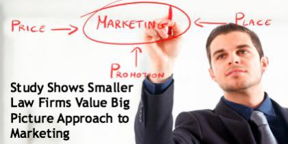 Study Shows Smaller Law Firms Value Big Picture Approach to Marketing