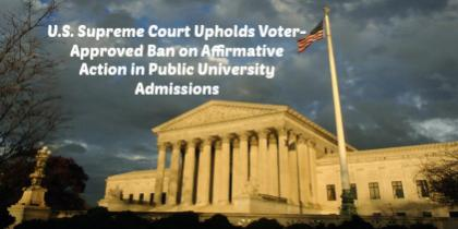 U.S. Supreme Court Affirmative Action