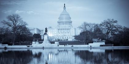 The US capitol in the midst of many crises
