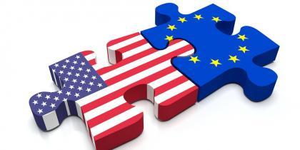 puzzle pieces, flag, usa, eu