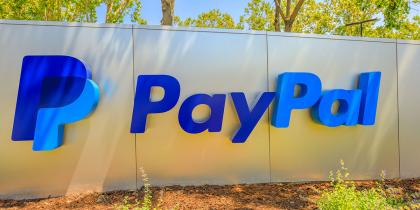 pay pal headquarters sign in California