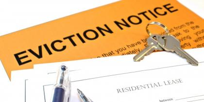 Evictions Lease Rental Law