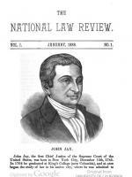 The National Law Review a law journal started in 1888
