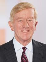 William F Weld Attorney Mintz Levin Law Firm and Former Massachusetts Governor