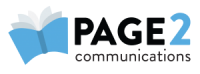Page 2 Communications Logo