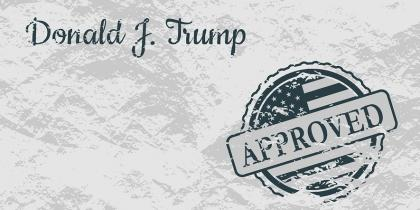 donald trump, buy american and hire american