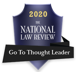 2020 National Law Review Go To Thought Leader Award