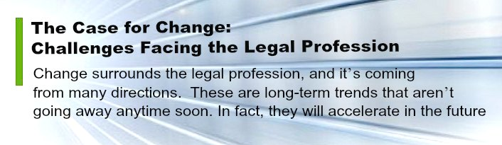 The Case for Change Law Firm Challenges