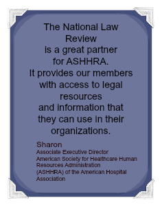 Testimonial from association partner of the National Law Review