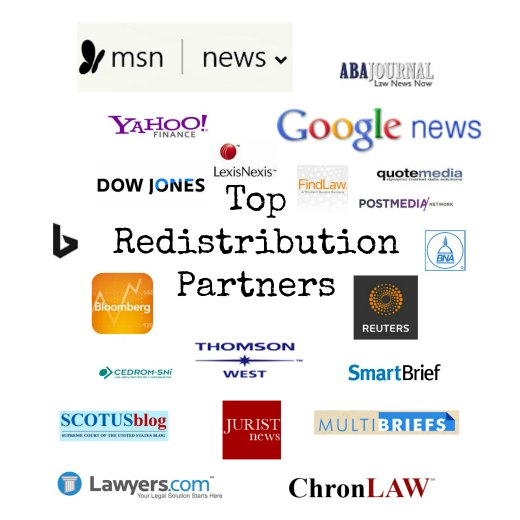 Media who cite the National Law Review as legal authority
