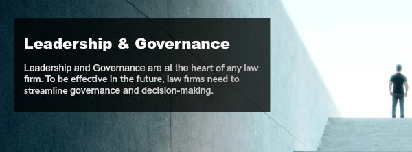 leadership governance for law firms